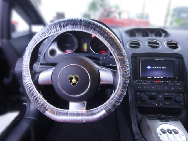 ランボルギーニ ランボルギーニ ガヤルド eギア 黒革白ステッチシート フルエアロ 正規ディーラー車