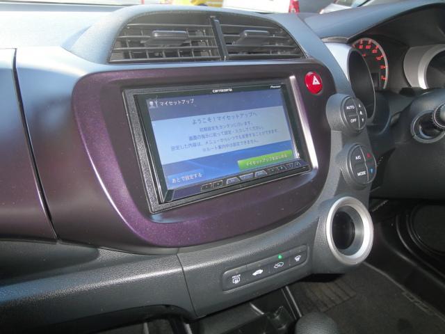 ホンダ フィット RS BT対応地デジHDDナビ LEDテール 16INアルミ