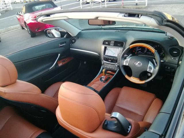「レクサス」「IS」「オープンカー」「広島県」の中古車2
