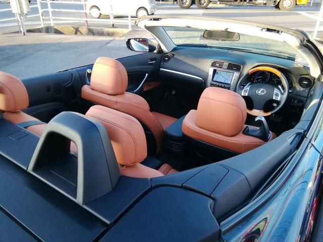 「レクサス」「IS」「オープンカー」「広島県」の中古車7