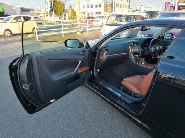 「レクサス」「IS」「オープンカー」「広島県」の中古車19