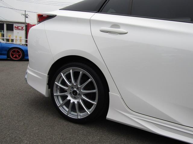 S 新品モデリスタエアロキット 新品18インチ新品タイヤ ナビ Bluetooth 社外LEDフォグ・ウィンカー付き ETC(6枚目)