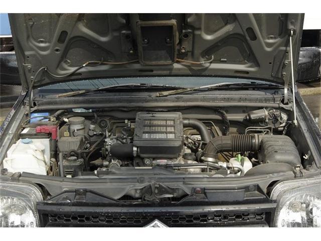 ランドベンチャー 4WDターボ ルーフレール 背面タイヤ(11枚目)
