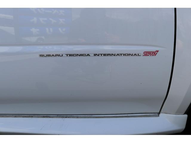 スバル インプレッサ WRX STi 柿本マフラー ブリッツ車高調 社外ナビ