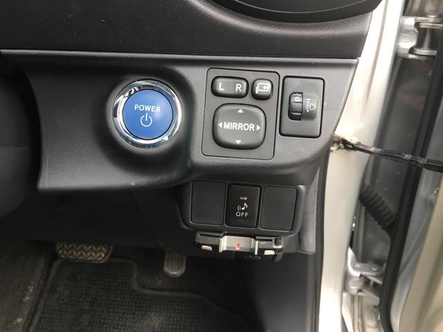 トヨタ アクア Gスマートエントリーパッケージ プッシュスタート ETC