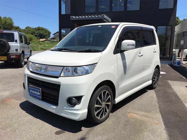 「スズキ」「ワゴンRスティングレー」「コンパクトカー」「鳥取県」の中古車3