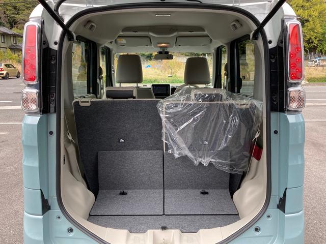 ハイブリッドX セーフティーサポート 禁煙車 両側電動スライドドア バックソナー スマートキー オートエアコン シートヒーター ルーフレール 盗難防止システム ベンチシート フルフラット(18枚目)