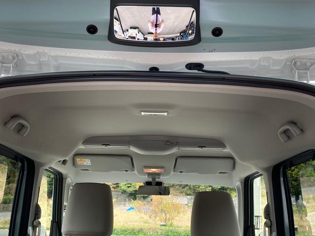 ハイブリッドX セーフティーサポート 禁煙車 両側電動スライドドア バックソナー スマートキー オートエアコン シートヒーター ルーフレール 盗難防止システム ベンチシート フルフラット(19枚目)
