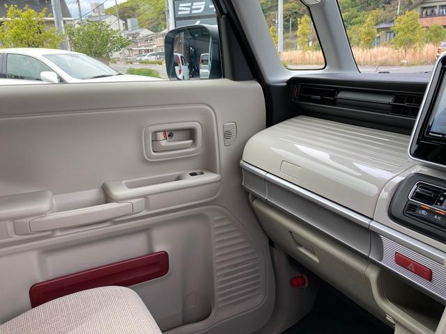 ハイブリッドX セーフティーサポート 禁煙車 両側電動スライドドア バックソナー スマートキー オートエアコン シートヒーター ルーフレール 盗難防止システム ベンチシート フルフラット(37枚目)