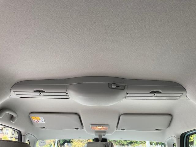 ハイブリッドX セーフティーサポート 禁煙車 両側電動スライドドア バックソナー スマートキー オートエアコン シートヒーター ルーフレール 盗難防止システム ベンチシート フルフラット(44枚目)