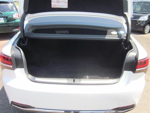 LS500h バージョンL 革シート サンルーフ 4WD フルセグ メモリーナビ バックカメラ 衝突被害軽減システム ETC LEDヘッドランプ(7枚目)