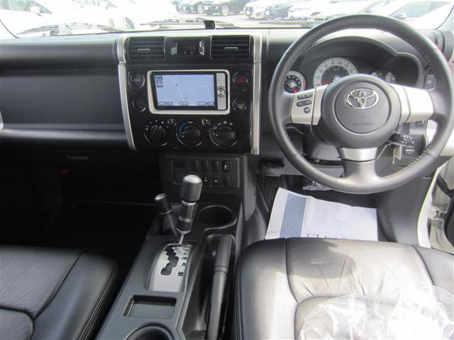 トヨタ FJクルーザー カラーパッケージ HDDナビ Bモニター 社外アルミ