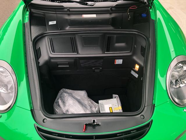 911GT3RS 正規ディーラー車 シグナルグリーン(20枚目)
