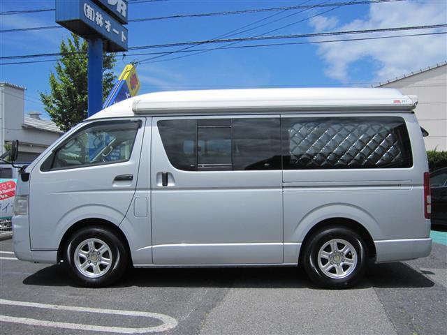 トヨタ ハイエースバン リンエイ キャンピング FFヒーター ナビ TV