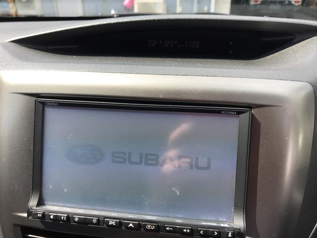 スバル インプレッサ 15S AT 純正 HDDナビ付
