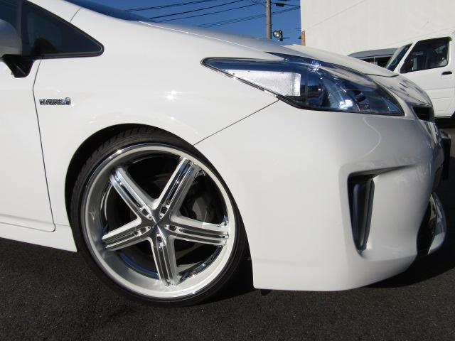 L新品車高調新品9型ナビ新品19インチ新品タイヤ新品ハンドル(4枚目)