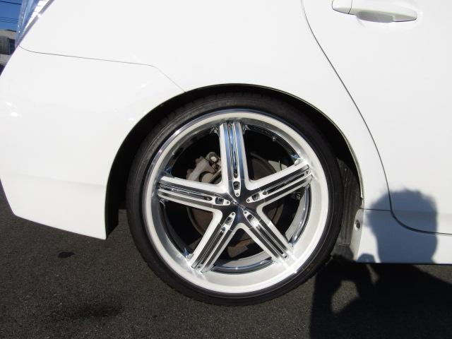 L新品車高調新品9型ナビ新品19インチ新品タイヤ新品ハンドル(5枚目)