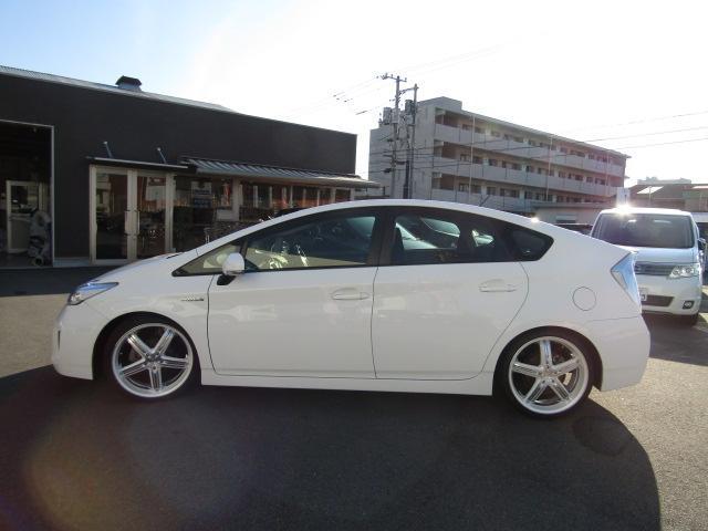 L新品車高調新品9型ナビ新品19インチ新品タイヤ新品ハンドル(7枚目)