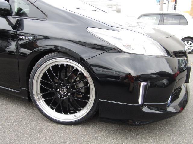 S新品車高調新品19インチ新品ハンドル モデリスタエアロ(4枚目)
