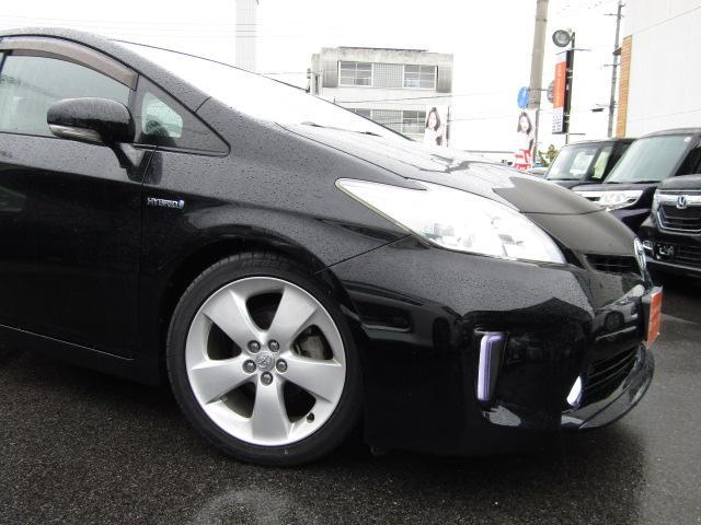 トヨタ プリウス G後期仕様 新品車高調 新品LEDライト・フォグ 17インチ