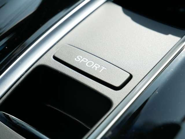 【Sモード】 SモードスイッチをONにするとエンジン中心のスポーティーな走りに。山道や高速道路走行時により効果を実感できます。