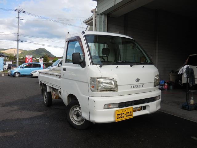 軽トラック エアコン パワステ 三方開 最大積載量350kg(4枚目)