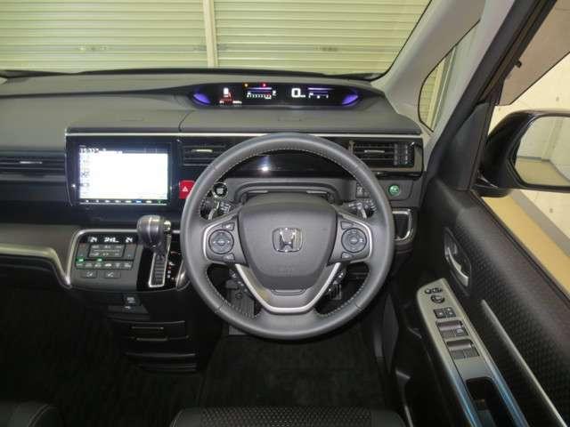 スパーダ・クールスピリット ホンダセンシング 9インチナビ CD DVD ミュージックサーバー Bluetooth ハンズフリーテレホン 11.6インチリア席モニター モニターリモコン オーディオリモコン 両側電動スライドドア サポカー(6枚目)
