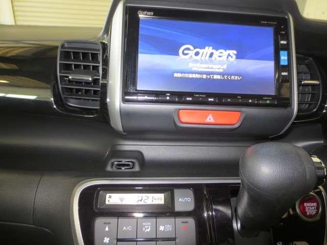 G SSブラックスタイルパッケージ 純正7インチナビ リアカメラ DVD 地デジ Bluetooth アップルカープレイ USB CD ミュージックラック 両側電動スライドドア ロールカーテンサンシェイド 2列目スライドシート ETC(3枚目)
