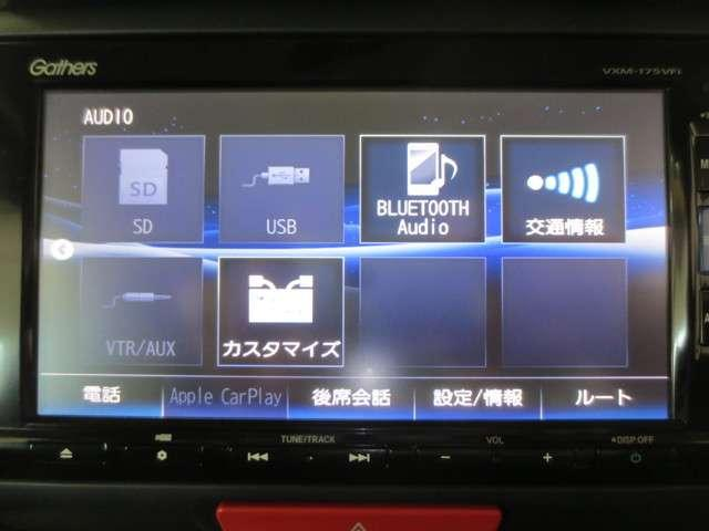 G SSブラックスタイルパッケージ 純正7インチナビ リアカメラ DVD 地デジ Bluetooth アップルカープレイ USB CD ミュージックラック 両側電動スライドドア ロールカーテンサンシェイド 2列目スライドシート ETC(5枚目)