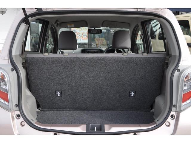 フル乗車でもしっかり荷物を収納出来るラゲッジスペースです。普段の買い物でしたらシッカリ積める日常十分な荷室スペースを確保しています。プライバシーガラスでお荷物が見えにくくなっています。安心ですね♪