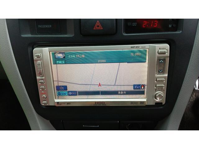 トヨタ マークIIブリット 2.0iR 純正HDDナビ 純正アルミ