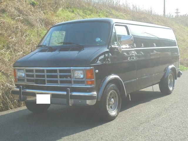 ダッジ ダッジ バン 1992モデル 1ナンバー ETC 5200cc