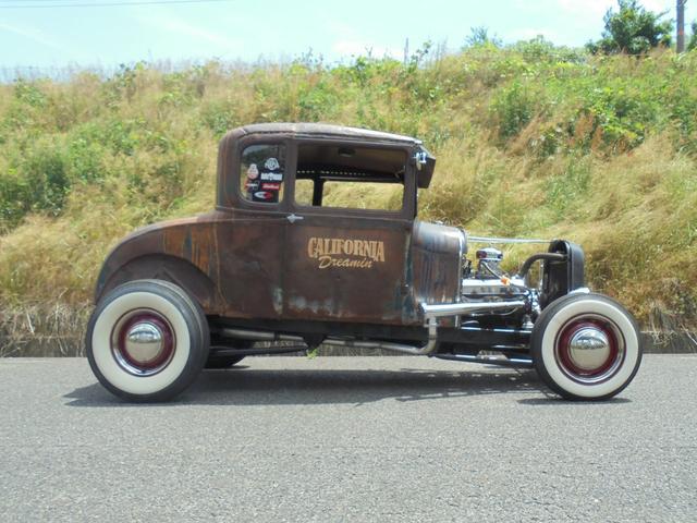 1927年 model A coupe Hotrod V8(4枚目)