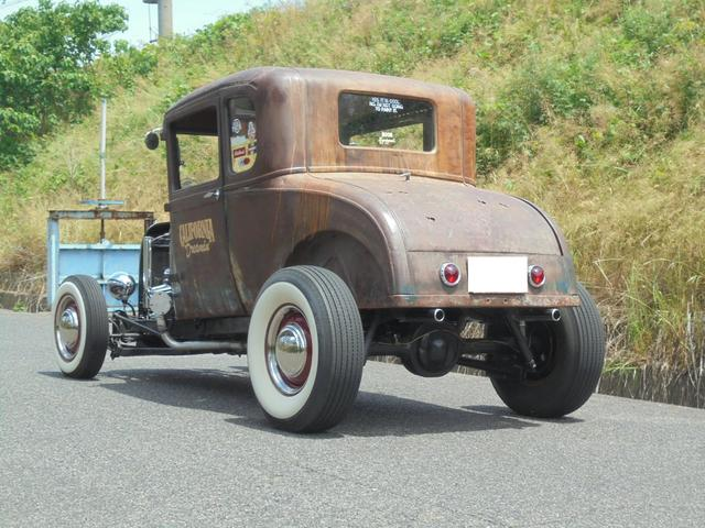 1927年 model A coupe Hotrod V8(6枚目)