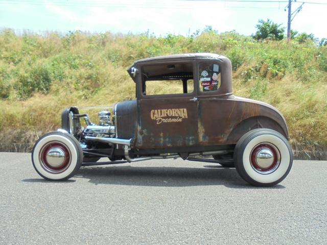 1927年 model A coupe Hotrod V8(7枚目)