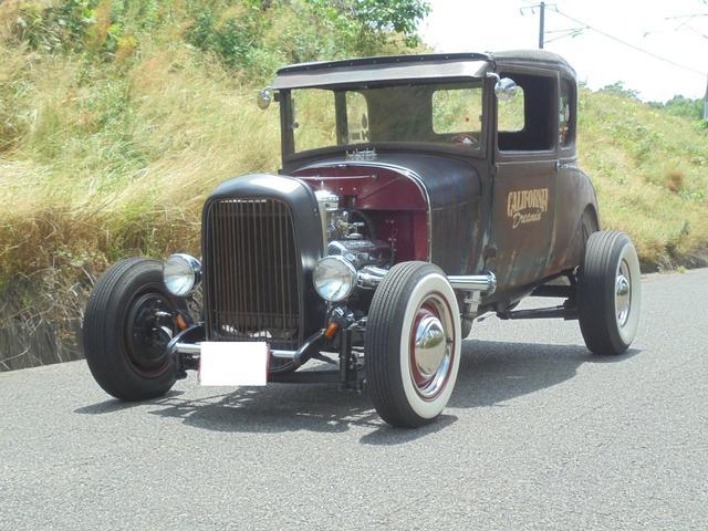 1927年 model A coupe Hotrod V8(8枚目)