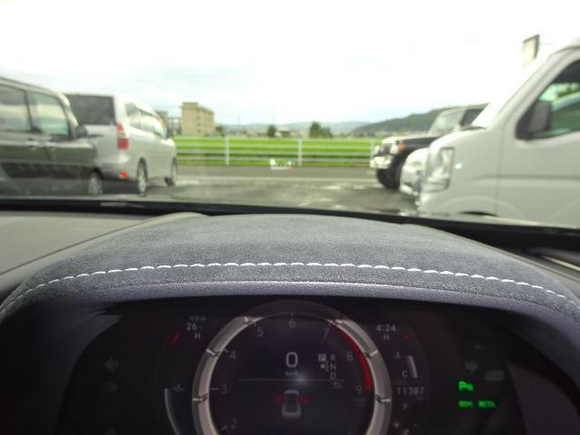 500Sパッケージヘッドアップディスプレイ赤内装社外マフラー(19枚目)