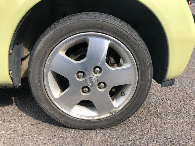 F 下取車 禁煙車 タイヤ4本新品(19枚目)