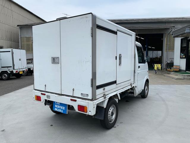 保冷車 5速MT AC PS Fタイヤ新品 クラッチO/H(8枚目)