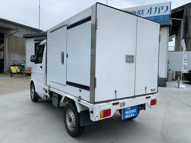 保冷車 5速MT AC PS Fタイヤ新品 クラッチO/H(9枚目)