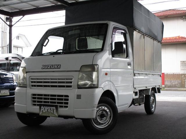スズキ キャリイトラック KC・PS・AC・幌付・AT・保証付・GOO鑑定車