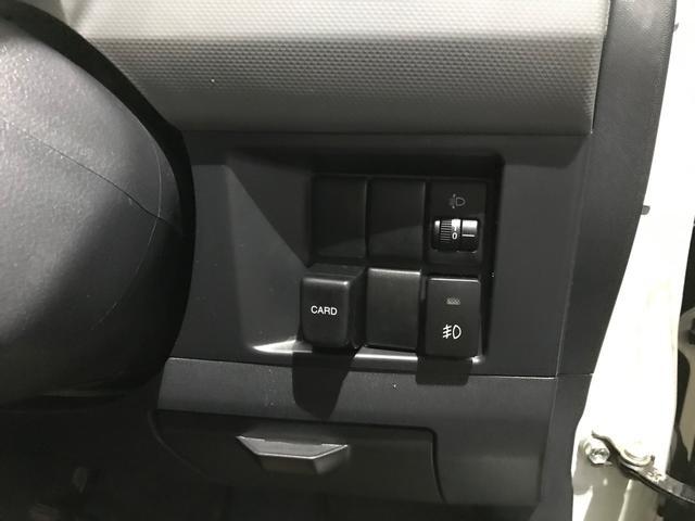 FX-Sリミテッド スズキスポーツFエアロ キーレス15インチ 黒革調シートカバー ベンチシート タイミングチェーン式 レベライザー ドアバイザー 電動格納ミラー フォグランプ(17枚目)