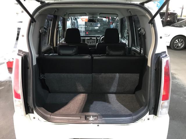 FX-Sリミテッド スズキスポーツFエアロ キーレス15インチ 黒革調シートカバー ベンチシート タイミングチェーン式 レベライザー ドアバイザー 電動格納ミラー フォグランプ(29枚目)