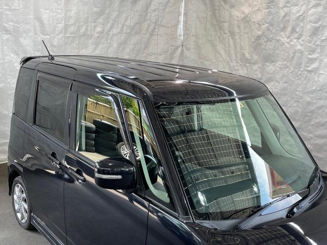 リミテッドII 社外SDナビTV Bluetooth 両側パワースライドドア スマートキー プッシュスタート シートヒーター HIDヘッドライト フォグランプ 純正14インチAW電動格納ミラー オートエアコン(6枚目)