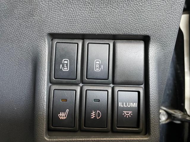 リミテッドII 社外SDナビTV Bluetooth 両側パワースライドドア スマートキー プッシュスタート シートヒーター HIDヘッドライト フォグランプ 純正14インチAW電動格納ミラー オートエアコン(37枚目)