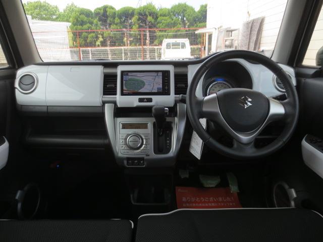 スズキ ハスラー Xターボ 4WD スマートキー 外メモリーナビ