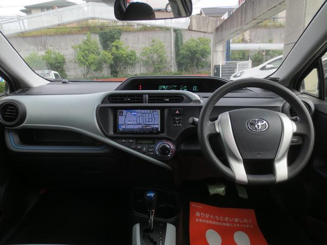 トヨタ アクア S 外メモリーナビ ETC キーレス