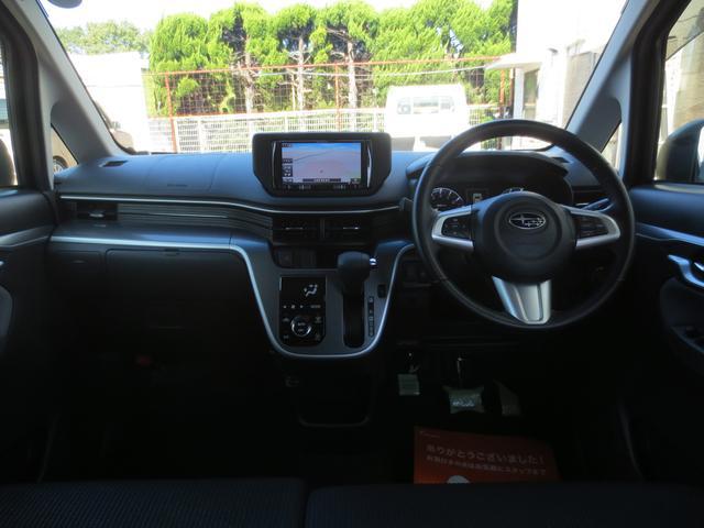 スバル ステラ カスタムRS 4WD 外メモリーナビ LEDヘッドライト