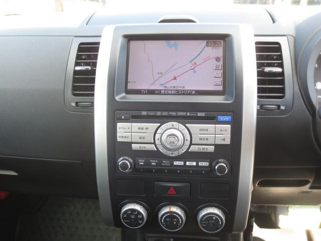 20Xtt 4WD 純正HDDナビ フルセグ地デジ ETC(18枚目)