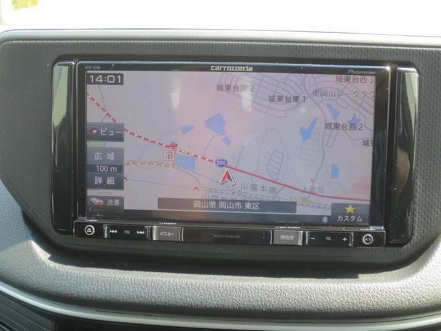 カスタムR 修復歴無 純正SDナビ フルセグ地デジ Bluetooth スマートキー プッシュスタート LEDヘッドライト フォグランプ アイドリングストップ 純正アルミ(8枚目)